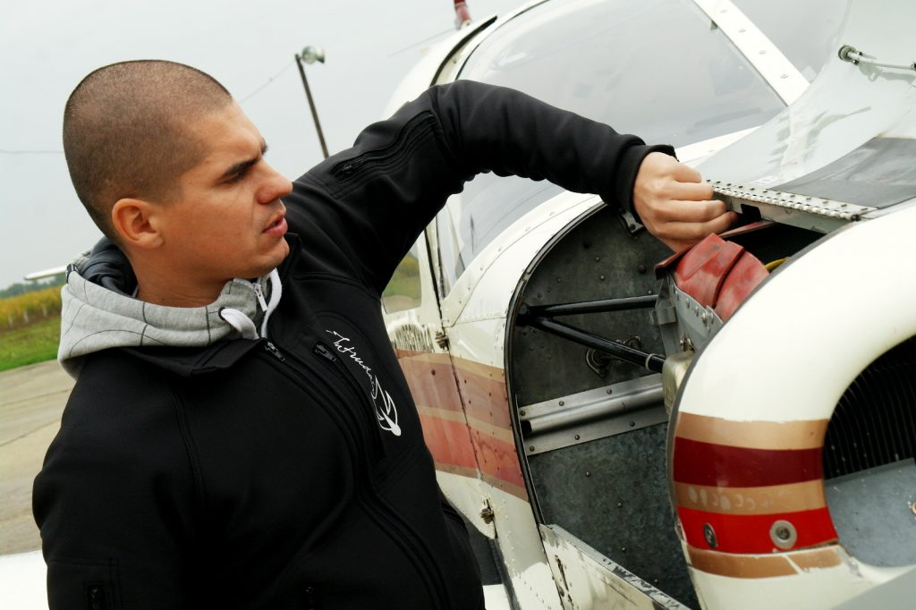 Böszörményi Roland – pilóta